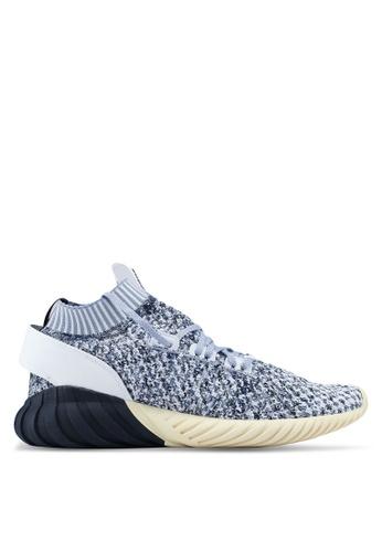 adidas white adidas originals tubular doom sock pk AD372SH0SUVMMY_1