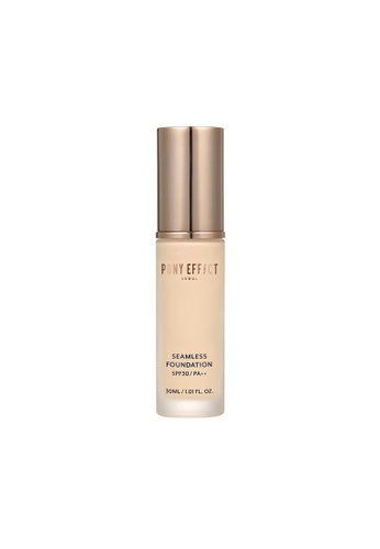 Pony Effect beige Seamless Foundation Natural Ivory FDED7BEC1100DCGS_1