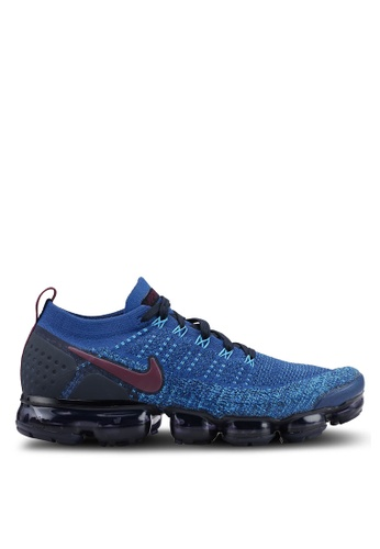low priced b632c bf3de Nike navy Men s Nike Air Vapormax Flyknit 2 Running Shoes 94908SH079DF2AGS 1