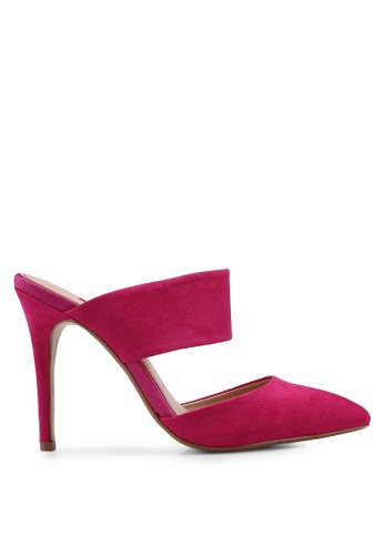 Dorothy Perkins pink Pink Microfibre Georgie Court Shoes B8D93SHD7E01AEGS_1