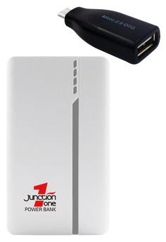 J1 13000mah Power Bank With FREE Micro USB OTG