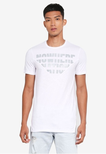 Jack & Jones white Harry Tee 82F9AAAD0E9840GS_1