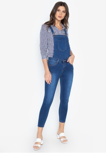 low cost purchase newest clearance sale Denim Jumper Pants Ladies