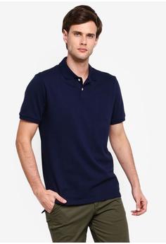 634e6be1d GAP navy Pique Polo Shirt 54758AAAE3AA33GS 1