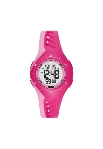 PUMA pink Watch P6008 56BC2ACD4922E9GS_1