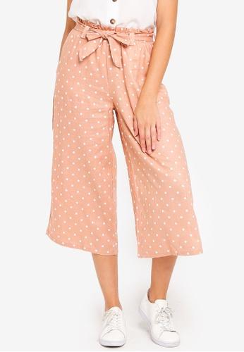 Cotton On orange High Waist Culottes 6B721AAC2FCB04GS_1