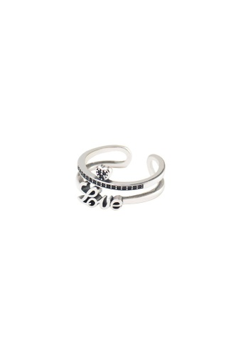 A-Excellence silver Premium S925 Sliver Geometric Ring ECD20ACF21375AGS_1