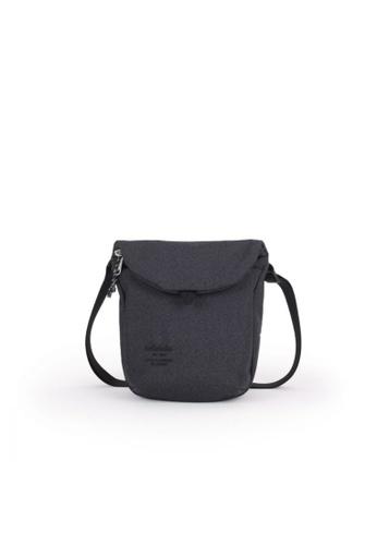 Hellolulu black Hellolulu Desi Sling Bag (Coal Black) CFB83AC984AD13GS_1