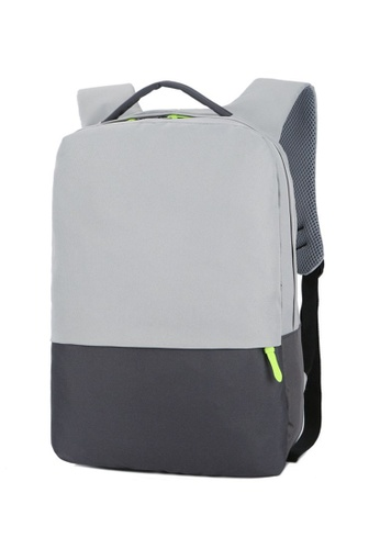 8af3166716 Jackbox grey Korean Featherweight Ipad Laptop Bag Business Backpack 545  (Grey) AD792ACC3C4FCEGS 1