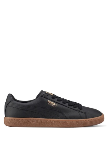 Puma black Prime Basket Classic Gum Deluxe Shoes C3D5FSH2DB952DGS_1