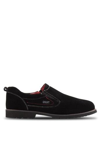 Knight black Smart Casual Shoes KN875SH26ZLTMY_1