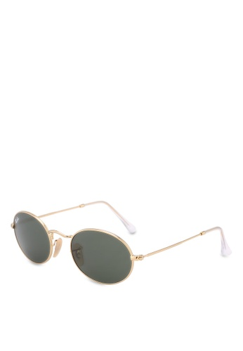 Ray-Ban gold Icons RB3547 Sunglasses DBA3CGL72BDC54GS_1