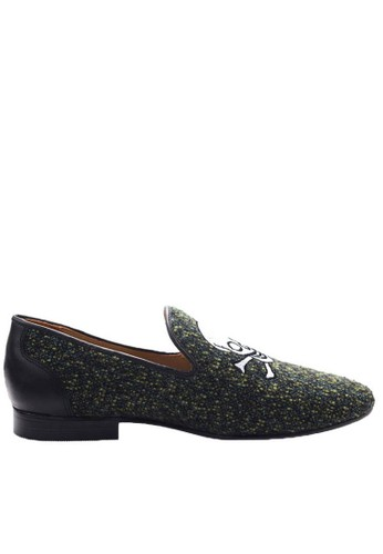 Ftale Footwear green Happy Skull FT118SH20GQLID_1