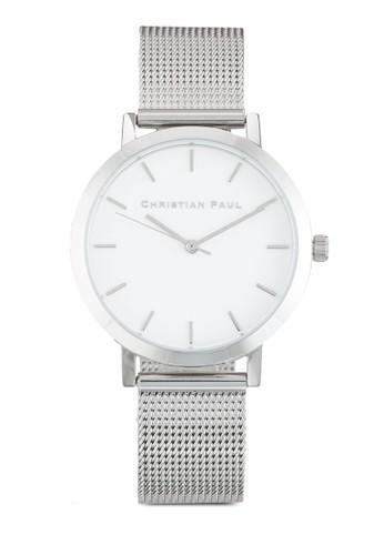 Raw 35mm 網眼錶帶圓框zalora 衣服尺寸手錶, 錶類, 飾品配件