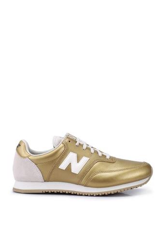 New Balance gold Comps 100 Classic Running Shoes A67C2SHB24CD53GS_1