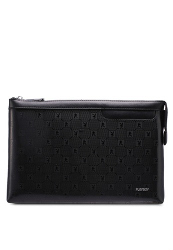 Playboy black Playboy Clutch Bag EE7AEAC028A359GS_1