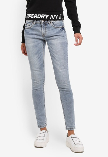 Superdry blue Cassie Skinny Jeans 1D5C2AA40F4808GS_1