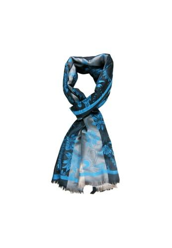 BALLIN blue Jilbab Wanita Dabria Blue CED4DAA5A0BFFBGS_1