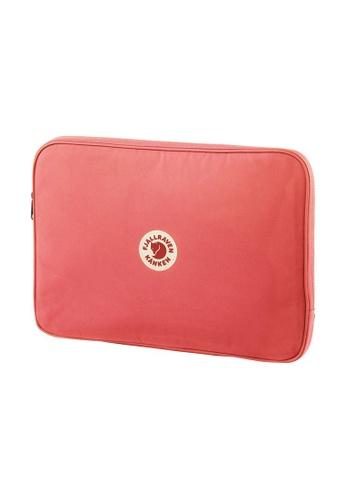 "Fjallraven pink Fjällräven Kanken Laptop Case 15"" Peach Pink 7743EAC6CD78B4GS_1"