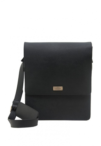 The Tannery Manila black Grayson, Timberland Genuine Leather Messenger Bag C9931AC4D90A42GS_1
