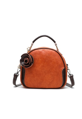 Lara brown Women's Flowers Shell Shape Sling Bag 2ED2FAC8505F59GS_1
