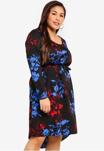 Junarose black Ewa Keenan LS Above Knee Dress 5E38FAA6726668GS_1