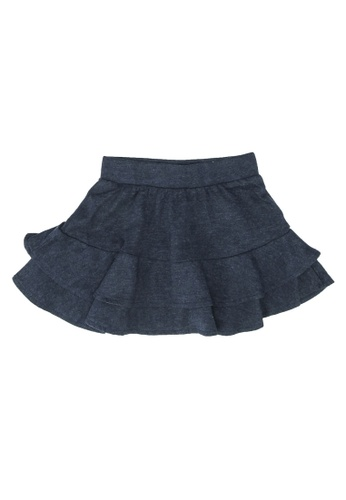 FOX Kids & Baby blue Plain Skirt E2F63KADD15213GS_1