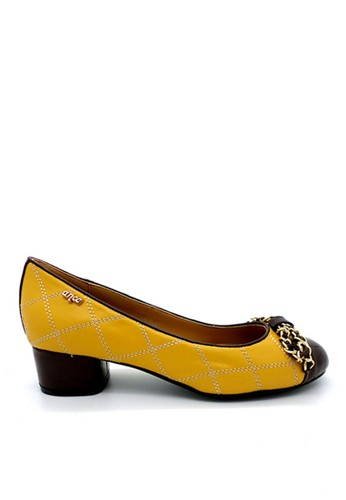 anca yellow Anca Pantofel 1688 Yellow/Brown AN027SH70AUVID_1