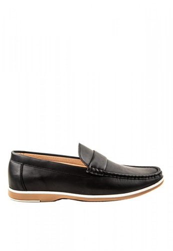 Otto black Slip-On Loafers 81907SH379F668GS_1