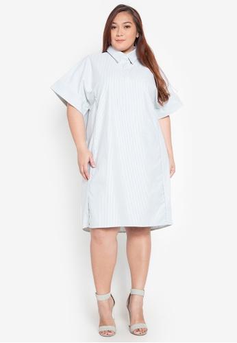 Shop Amelia Plus Size Polo Dress Kathleen Online On Zalora Philippines