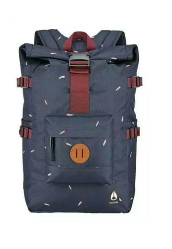 Nixon navy Swamis Backpack II Midnight Navy Multi C35B5AC1A2CE01GS_1