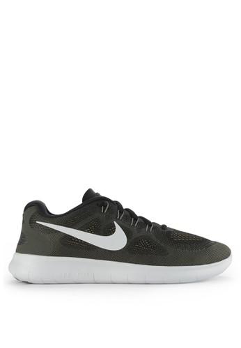 Nike black Men's Nike Free RN 2017 Running Shoes NI126SH0WCKLID_1