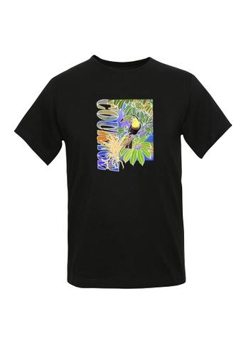 BSX black BSX Unisex's regular fit printed tee - Batik art (Online exclusive) 0409024658 B2127AA37FF896GS_1