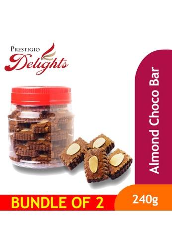 Prestigio Delights CNY Cookies Snacks - Almond Choco Bar 240g Bundle of 2 C921DES762BA44GS_1