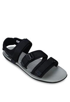 Tri Strap Urban Rubber Sandal