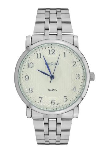Dooka silver CAQUO Classic  Analog  Wrist Watch 635 DO079AC39LFSPH_1