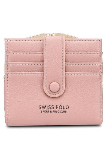 Swiss Polo pink Plain Mini Purse 9E7BBACFF00ED2GS_1