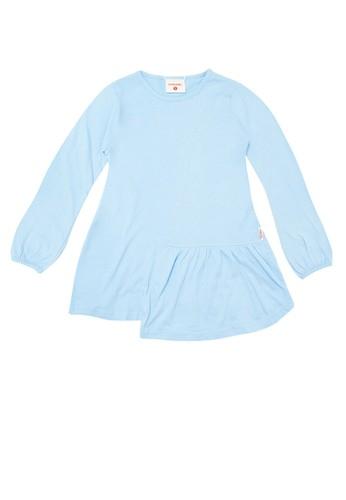 Cool Kids blue Tshirt Girl Regular 724EFKA9630653GS_1