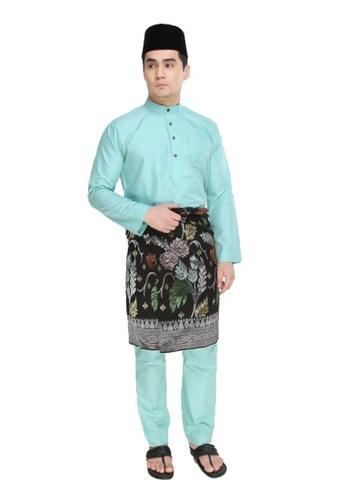 Amar Amran green Baju Melayu Moden 6800DAA3899E29GS_1