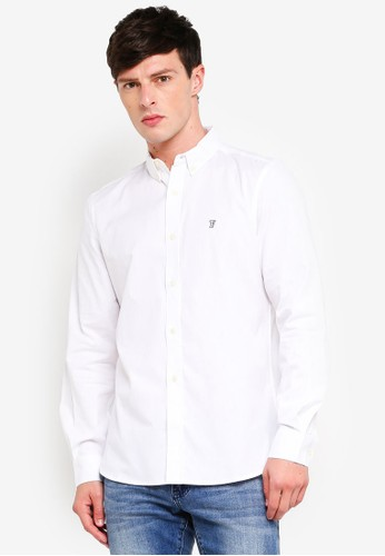 French Connection white Classic Soft Oxford 22677AAA52696EGS_1