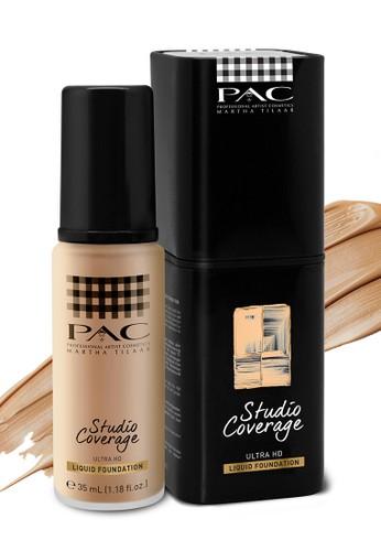PAC white PAC STUDIO COVERAGE LIQUID FOUNDATION 03 12/35 F195CBE24D4AEFGS_1