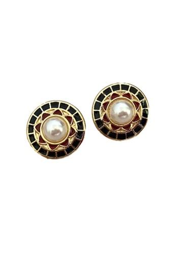 Kings Collection gold Victorian Earrings (KJEA20045) 18B3EACD56C04FGS_1