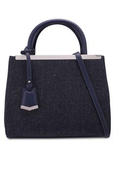 Marie Claire Blue Boxy Top Handle Bag 69c3bac6b24da7gs 1