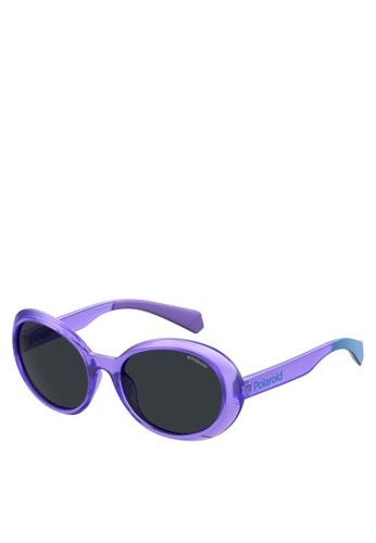 Polaroid Kids purple PLD 8033/S Sunglasses 20A45KC9FFA382GS_1
