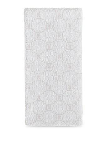 Playboy white Playboy RFID Blocking Bi-Fold Long Wallet C015CACAA6C77DGS_1