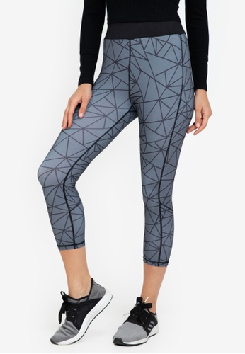 ZALORA ACTIVE multi 3/4 High Waisted Sports Tights D3182AA73F0862GS_1