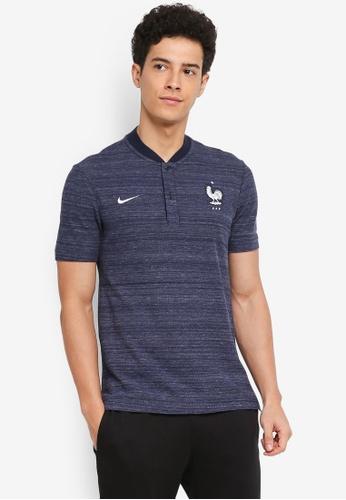 Nike black and white Men's Nike Sportswear FFF Polo Shirt 9FEDDAA3E596CDGS_1