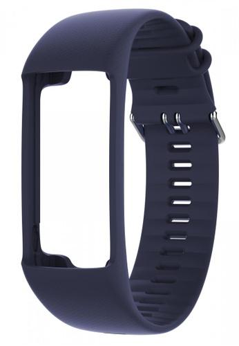 Polar blue A370 Changeable Wristband (Blue) PO255AC2VC4CHK_1