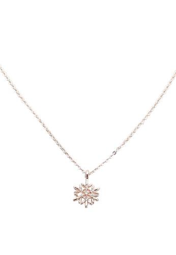 Red's Revenge gold Let It Snow Pendant Necklace 7591CAC30B88BBGS_1
