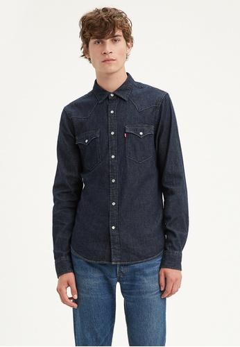 Levi's blue Levi's Classic Western Shirt Men 85745-0002 DA5F6AAB305A41GS_1